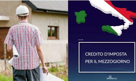 """Credito d'Imposta per il Mezzogiorno: come sfruttarlo per vendere i tuoi impianti di efficienza energetica con formula """"zero investimenti"""""""